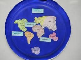 Seven Continents Map Mrs T U0027s First Grade Class The Continents