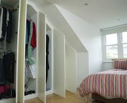 contemporary fitted wardrobes for loft bedroom joat