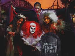 Six Flags Payments Six Flags Great America Fright Fest 2014 Count Gregula U0027s Crypt