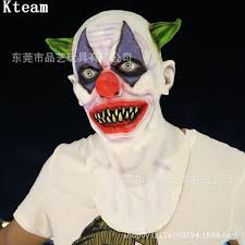 new scary clown costume mask creepy evil horror halloween batman