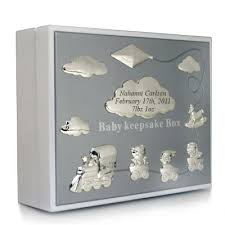engravable keepsake box 018874 baby keepsake box white things engraved
