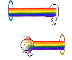 Puking Rainbow Meme - rage face script