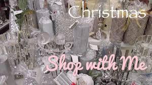 Kirklands Home Decor Store Christmas Shop With Me Kirklands Home Goods Burlington Youtube