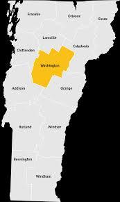 Washington County Map Washington County Vermont Network