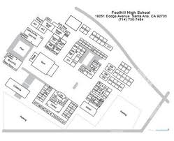 foothill cus map coastline rop foothill high map
