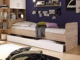 Schlafzimmer Komplett Eiche Cassian Bett 90x200 Eiche Sonoma Weiß