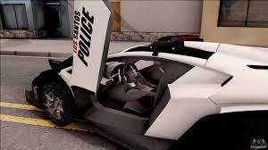 Lamborghini Veneno Dashboard - lamborghini veneno police los santos for gta san andreas