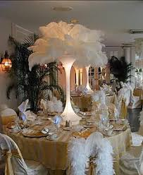 ostrich feather centerpiece ostrich feather centerpieces diy rentals designer centerpieces