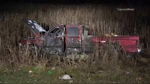 man 71 critically injured in fiery hit and run crash in illinois