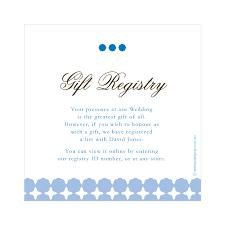 bridal registery bridal shower registry etiquette wording for wedding gift registry