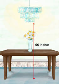 how high to hang chandelier over dining table the property brothers design cheat sheet that you need property