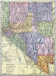 printable map of nevada nevada usa map afputra