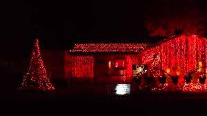 christmas light display to music near me funniest christmas light display to music darude sandstorm youtube
