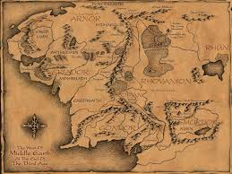 a map of middle earth map of middle earth tolkien major tourist attractions maps