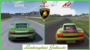 cars lamborghini assetto corsa vs project cars lamborghini gallardo mod at