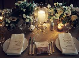 wedding table decoration ideas gold gold wedding decorations by