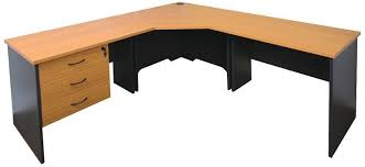 Corner Desk Beech Function Corner Workstation Beech Or Cherry Fast Office Furniture