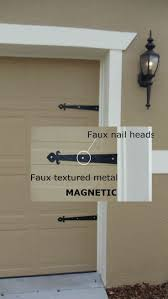 top 25 best garage door decorative hardware ideas on pinterest magnetic garage door decorative hardware kit hinges fleur de lis carriage house ebay