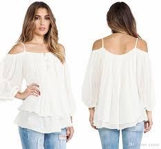Cheap Clothes For Plus Size Ladies Plus Size Women Clothing 2016 New Fashion Tops Off Shoulder