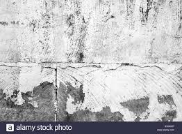 White Concrete Wall Old Concrete Wall With Peeling White Paint Layer Background Photo