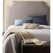 Grey Upholstered Headboard Humble Haute Tate Queen Upholstered Headboard Color Charcoal Grey