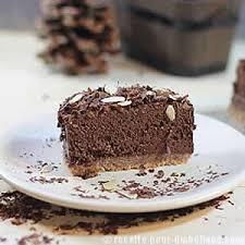 cuisiner sans sucre gâteau à la mousse au chocolat sans sucre ajouté