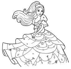 Coloriages à imprimer  Barbie numéro  53330