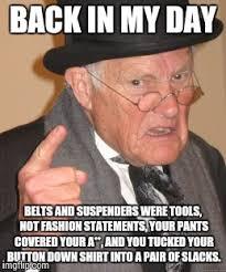 Sagging Pants Meme - saggy pants imgflip