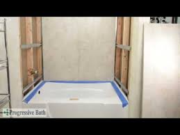 Shower Enclosure To Replace Bathtub Tile Made Easy Shower And Tub Enclosures Youtube