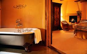 Orange Bathroom 20 Hotel Bathrooms That Will Have You Spending Vacation In The Tub