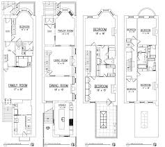 row home plans 100 brownstone row house floor plans a rare bed stuy
