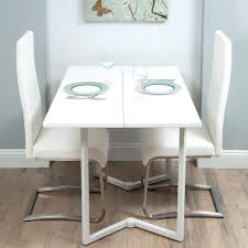 oak and white gloss dining table chiltern oak and white dining