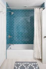 blue tile bathroom ideas looking for shower ideas check out this shower with pale