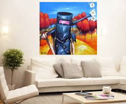 artfido buy art online ned kelly pop art painting art canvas ned kelly pop art painting art canvas print painting