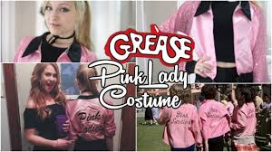 Pink Halloween Costumes Diy Grease Pink Lady Halloween Costume Youtube
