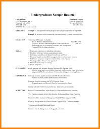 resume template sle 2017 ncaa 9 undergraduate resume sle job apply form