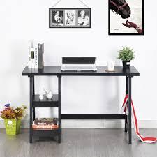 bureau atelier bureau atelier en bois noir bureau topkoo
