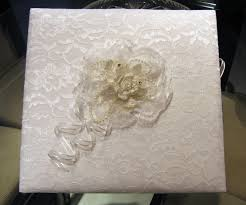 handmade photo album wedding ideas white lace wedding keepsake photo and memory