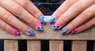 crazy about nails vacation nails