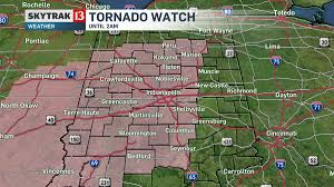Indianapolis Radar Map Severe Weather Passes Through Indiana Friday Night Local News