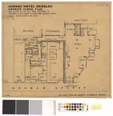 hotel lobby floor plan the langham hotel ucl the survey of