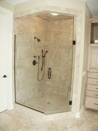 bathroom shower doors design with glass station decor and