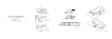 Villa Tugendhat Floor Plan by Domestic Current Satang U0027s Case Study Can One Live In The