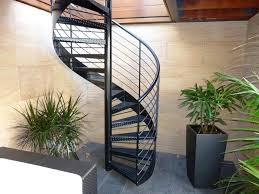 home design outdoor metal spiral staircase rustic medium the