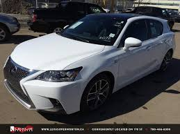 lexus ct 200h new ultra white 2015 lexus ct 200h fwd hybrid f sport package