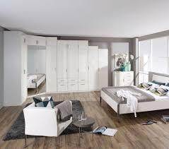 Schlafzimmer Komplett Mit Eckkleiderschrank Rauch Celle Schrank Kombi Weiß Spiegel Möbel Letz Ihr Online Shop