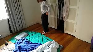 minimalist bed routine youtube