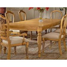 rectangular pine dining table 4507 819 hillsdale furniture wilshire antique pine dining table