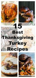 best thanksgiving turkey recipes