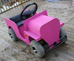 pink toy jeep mobility scooter kids jeep 7 steps with pictures